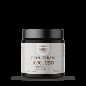 Pain Cream, 1000mg CBD Cream, Vitalita